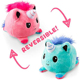 2019 custom plush colorful reversible toy stuffed kawaii unicorn peluches