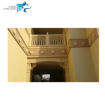 Rumah Dekorasi Eksternal Grc Semen Balustrade Desain Untuk Balkon