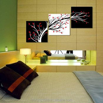 Moderne Belle Fleur Peinture à Lu0027huile Imprimée Sur Toile Pour La Décoration  Murale De