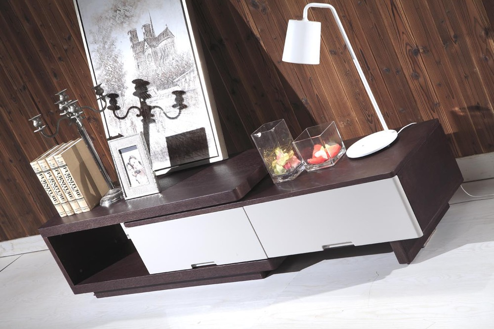 wooden furniture lcd tv stand modern corner tv cabinet model D360