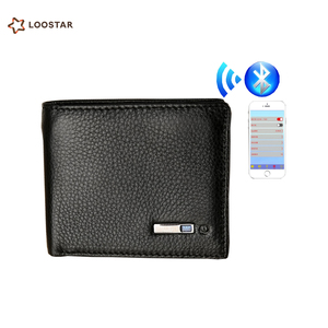 Anti Lost Smart Wallet for Men, GPS Bluetooth Wallet