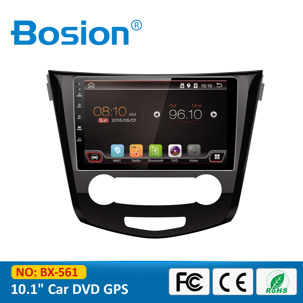 2016 Dashboard Accessories Parts Mirror Link Navigation Quad Core Android Qashqai Car Radio GPS with 3G Wifi BT