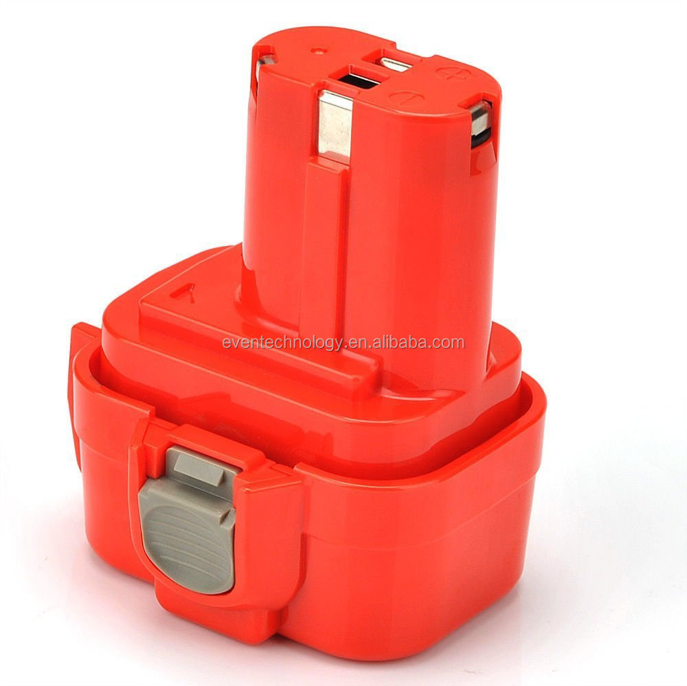 Replace Batteries for Makita 9.6V Ni-CD 1.5Ah Power Tool Battery Pack 9133 9134