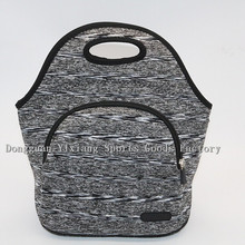 New Fashion Wholesale eco-friendly Neoprene Waterproof Lunch Tote Bag