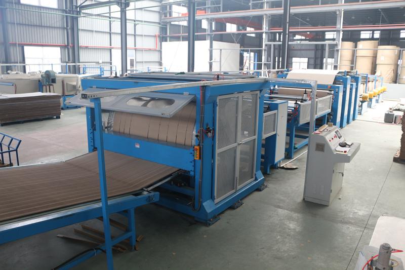 高速費用効果的な紙ハニカムコア製造機最低完成品無駄