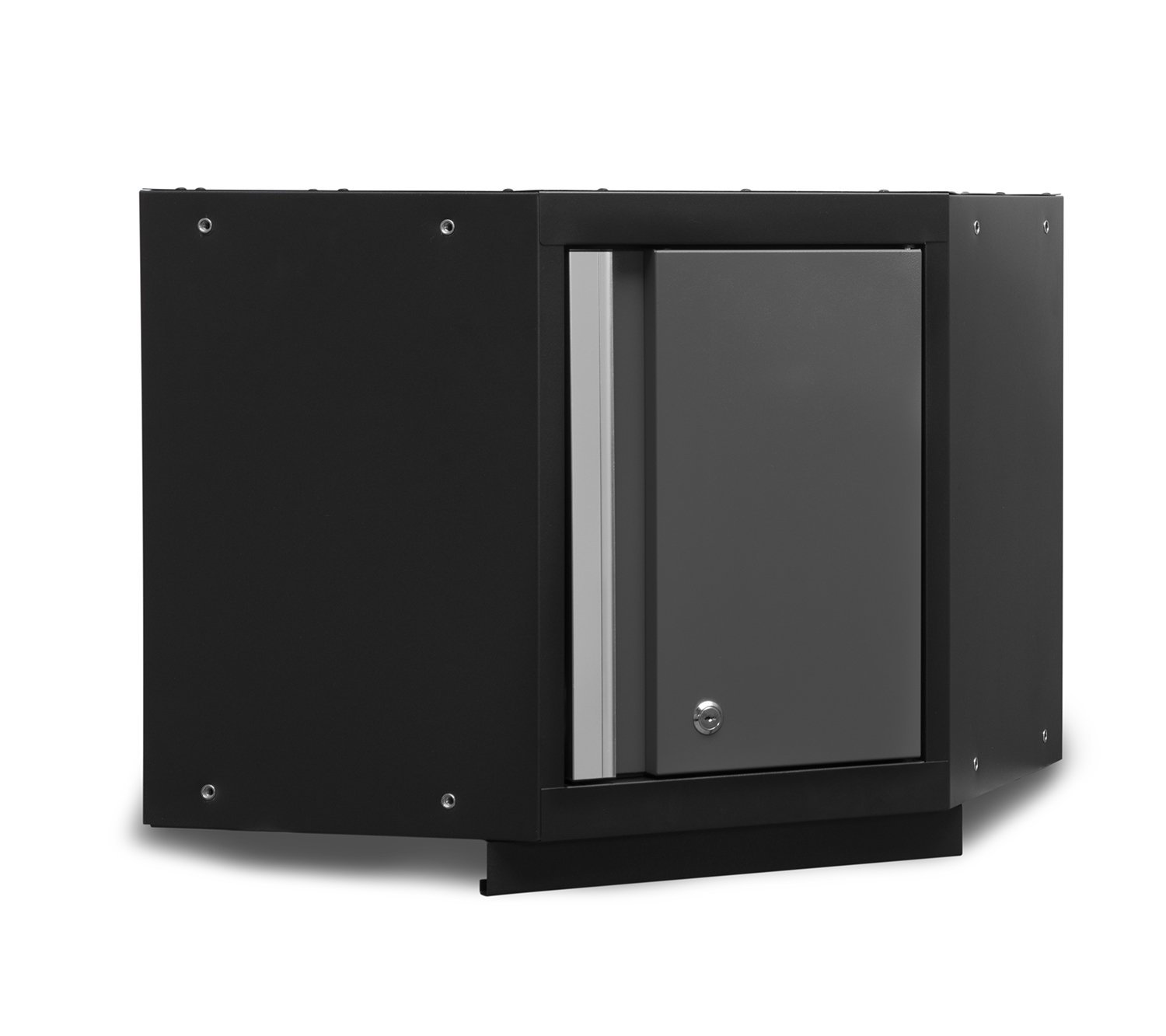 Get Quotations · NewAge Products 50001 Bold 3.0 Series Corner Wall Cabinet,  Gray