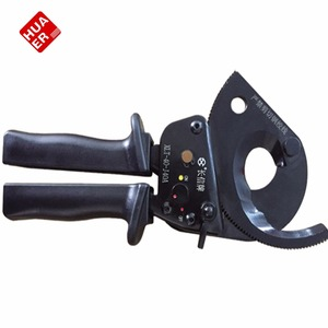 Different Types Manual Portable Ratchet Cable Cutter