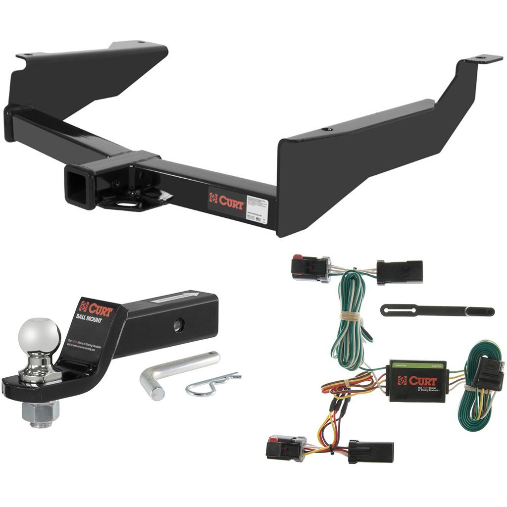 "CURT Class 3 Hitch Tow Package with 1-7/8"" Ball for 1998-2003 Dodge Durango"
