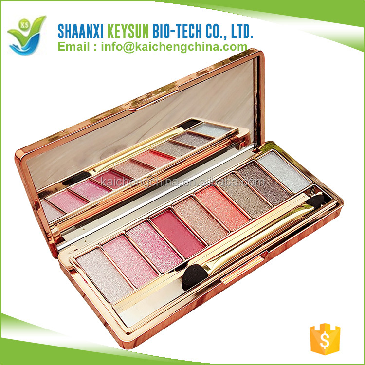 10 Color Eyeshadow Palette shining Romantic Color Eye shadow