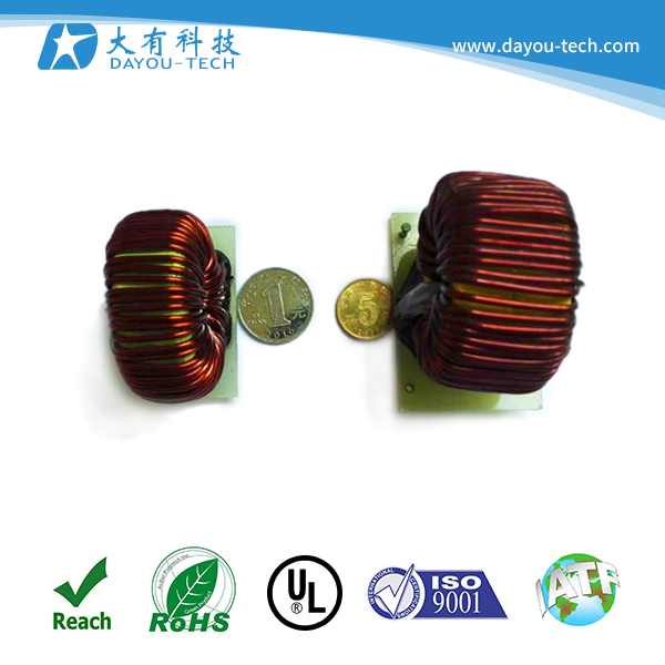 factory large wholesale different types of customized inductor