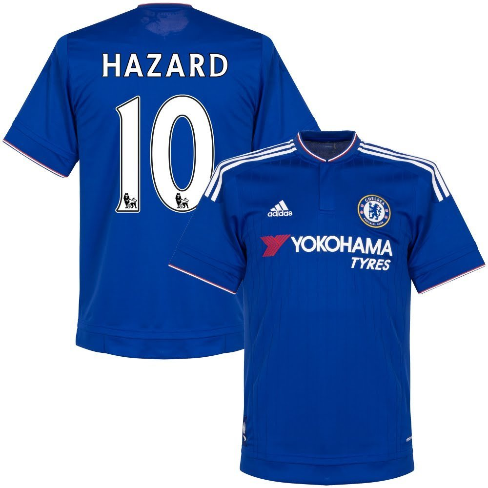 fec578a565a Chelsea Home Hazard Jersey 2015 / 2016 (Official PS Pro Player Printing)