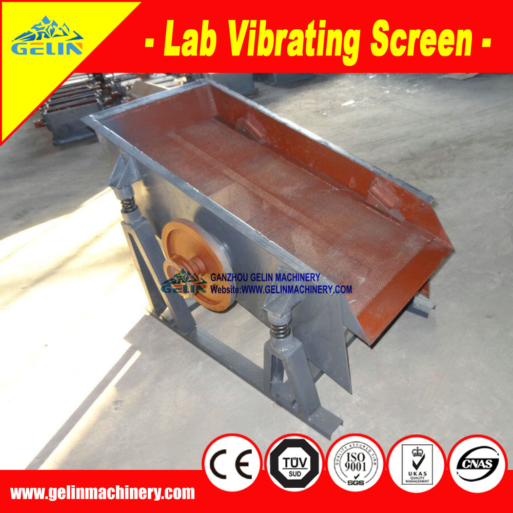 China manufacturer mini laboratory vibrating screen