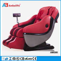 Anbolife electric infrared heating kneading neck shoulder back body spa massage zero gravity position foot rock chari massage