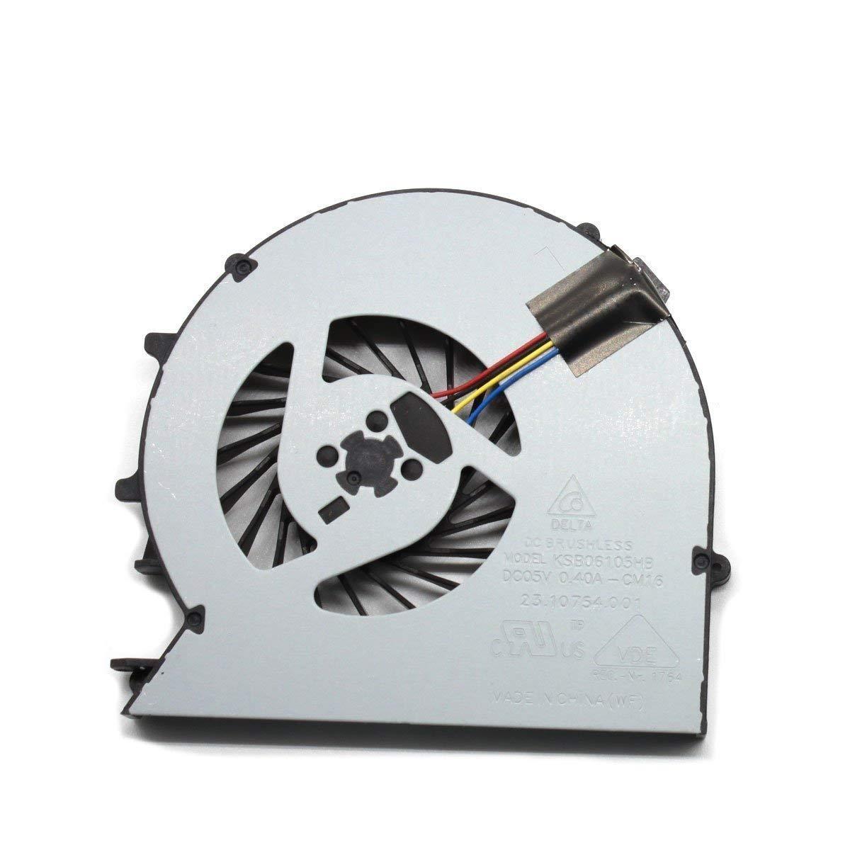 iiFix New CPU Cooling Cooler Fan For HP Probook 450 G1 455 G1 470 G1, P/N: 721937-001 721938-001