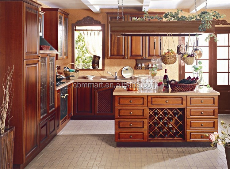 Rubber Wood Kitchen Cabinets, Rubber Wood Kitchen Cabinets Suppliers And  Manufacturers At Alibaba.com