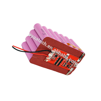 4S7P 14.8V 18.2Ah Li-ion battery pack for cordless dive lighting