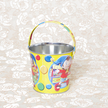 Factory direct small christmas galvanized tin buckets