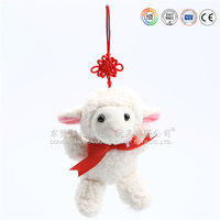 Cute baby plush toy stuffed animal lamb
