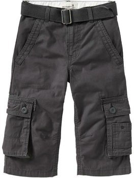 89137be0 Boys Belted 3/4 Cargo Pants - Buy Grey-1 Cargo Pants Product on ...