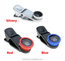Clip Mobile Phone Lens Super 3 In 1 Fish Eye + Macro + Wide Angle Universal
