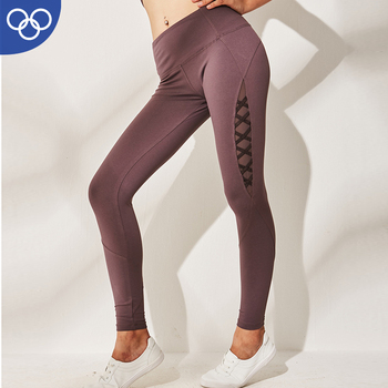 New Fashion Women Power Flex Yoga Pants Young Girls In Yoga Pants Workout Tights