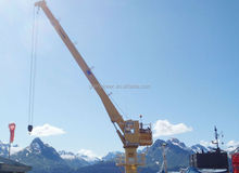 5-16ton new marine/ship lifting telescopic boom crane for sale
