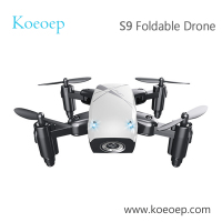 Original Mini drone S9 S9HW Foldable Pocket Quadcopter with 480p Camera WIFI App Control