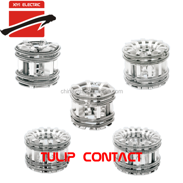 All kinds of Tulip Contact Contactor for Vacuum Circuit Breaker Switchgear Components 1000A