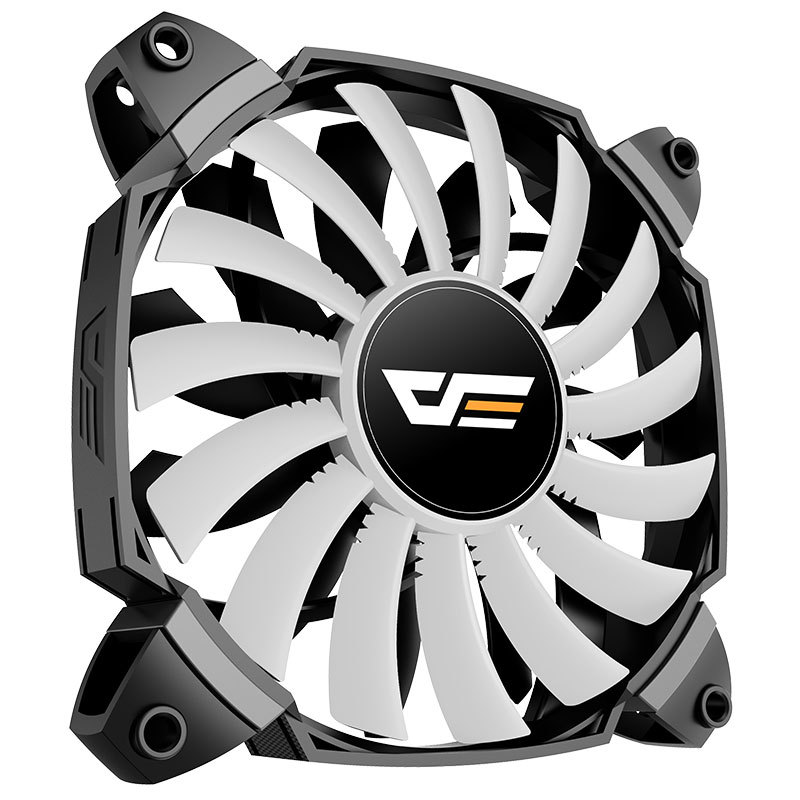 aigo darkFlash Twin blade fan High Quality Pc Chassis Cooling Fan