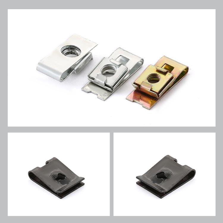 ST3.9 Cheap durable 65Mn spring steel U clip nut