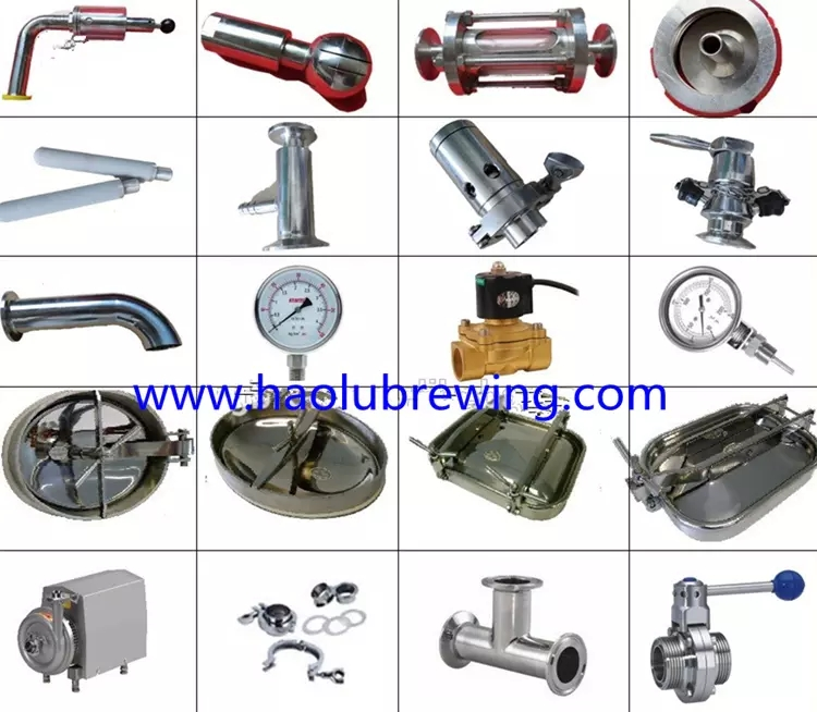 CE/UL Standard Stainless Steel 800L beer brewing equipment