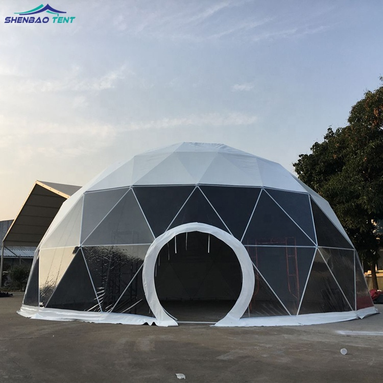 separation shoes 4f505 52b19 10m Factory Sale UV Resistant Soundproof Transparent Geodesic Round Dome  Event Tent for Outdoor Party, View dome tent, shenbao Product Details from  ...