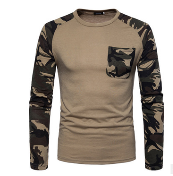 b58da9e282c6d1 Long Sleeve Mens Combat Tactical Military Uniform Camouflage T Shirt ...