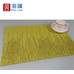 Slap-Up Hotel Supplier Textilen Fabric Transparent Pvc Placemat