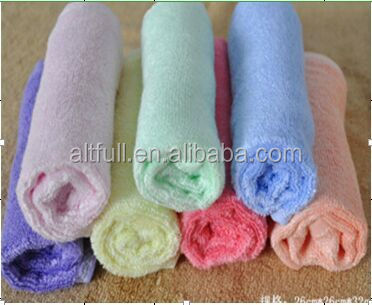 Wholesale China organic Bamboo softextile baby face towel/baby wash cloth