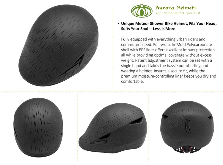 In-mold fashion urban cycling helmet 5