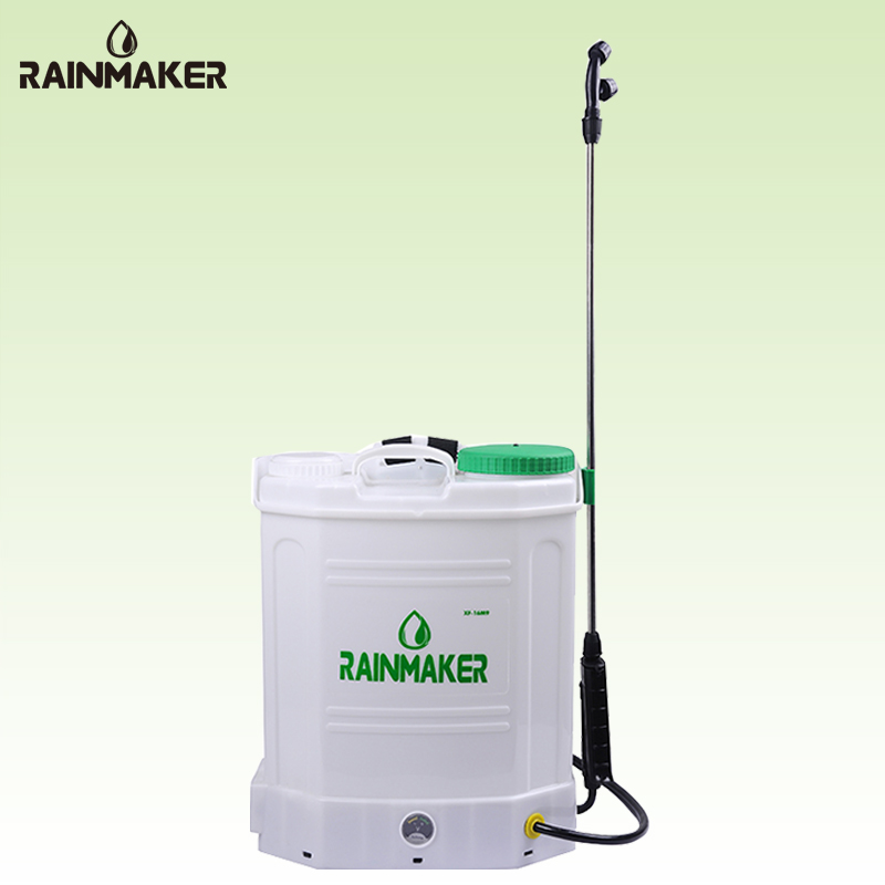 Rainmaker 16L Knapsack Plastic Battery Power sprayer