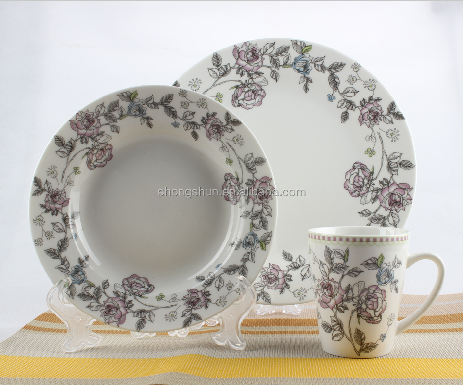 neue bone china umweltfreundliche tafelservice keramik dinnerwares buy product on. Black Bedroom Furniture Sets. Home Design Ideas