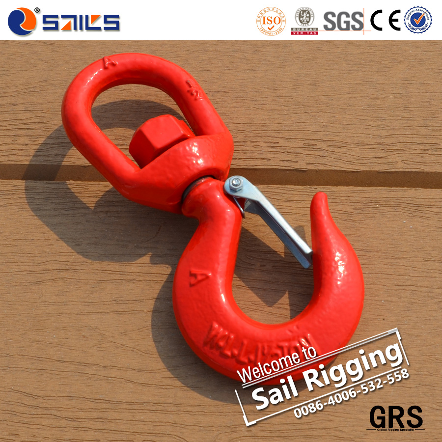 drop forged lifting swivel slip hook