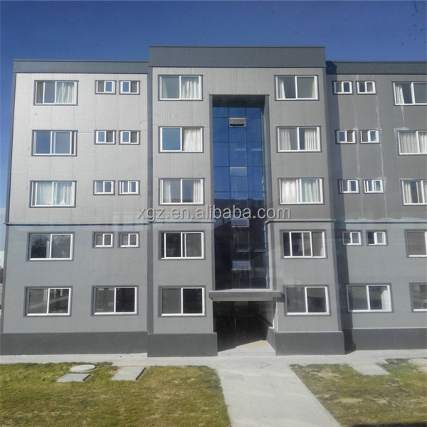 Steel Frame Apartment Prefab Multistory Building