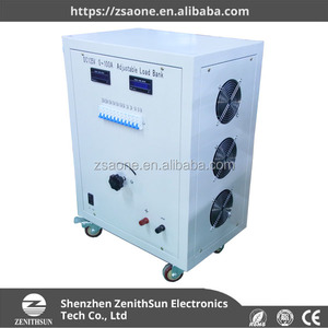 AC Adjustable Dummy Load Resistor Box 50Kw 220V
