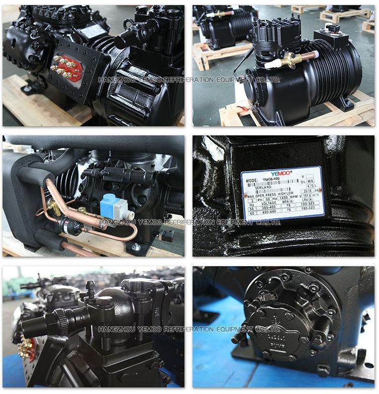 2 9kw 4hp Hangzhou Yemoo Semi-hermetic Refrigerant Gas Auto Ac Copeland  Refrigeration Compressor - Buy Copeland Refrigeration Compressor,Gas