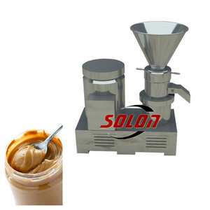 Food Factory Small peanut butter making machine/pasta maker machine/colloid mill
