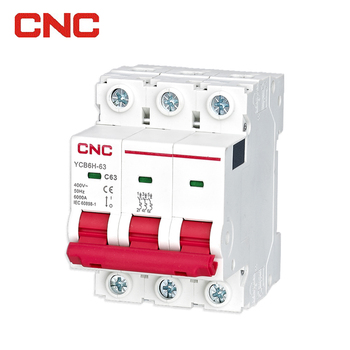 factory supplier plastic electrical mcb circuit box new 6ka breaker