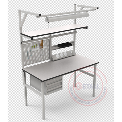 office workstation from Detall school furniture for school lab