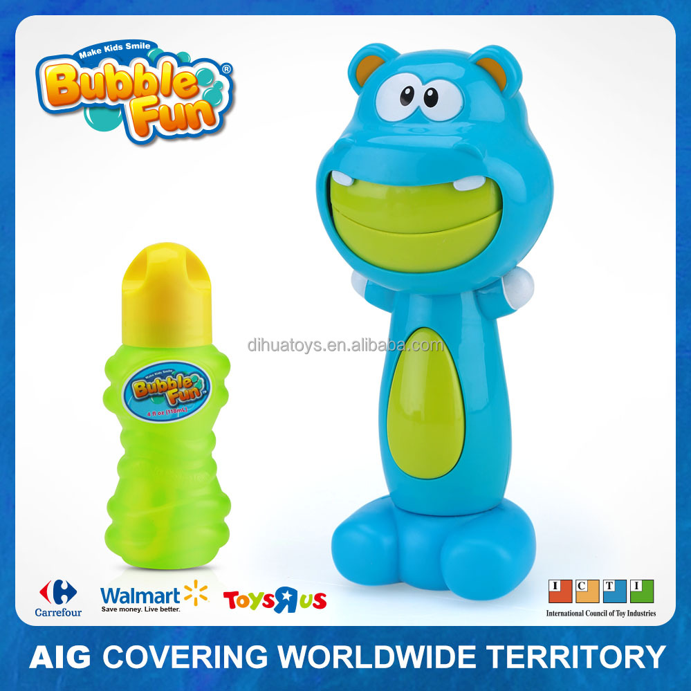 Plastic Bubble Blower Animal Electric Bear Bubble