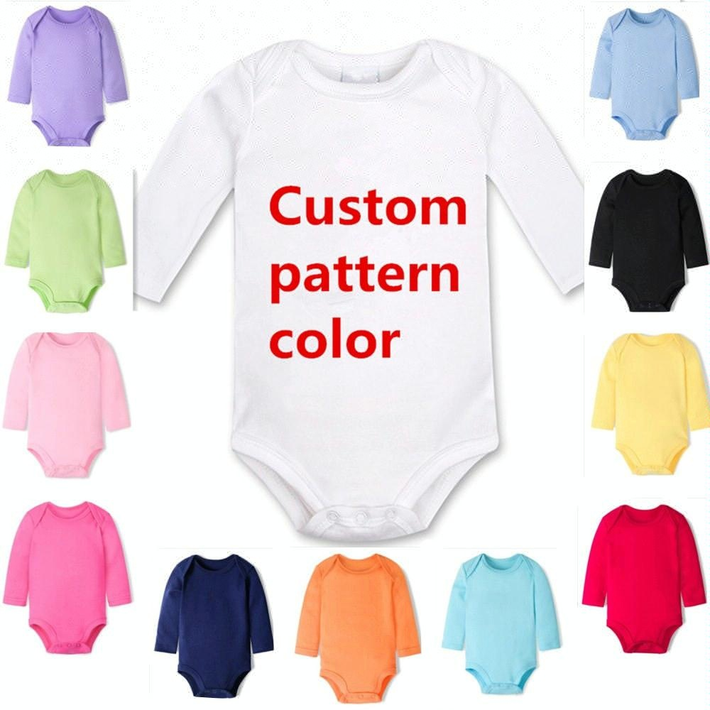 2018 hot sale fashion organic cotton import custom baby clothes china baby romper/baby toddler clothing