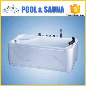 simple hot spa one person outdoor whirlpool massage bathtub