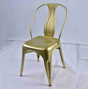 Delicieux French Vintage Industrial Dining Chair Fabric Restaurant Chair
