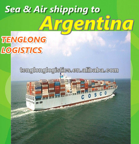 Air Sea Freight Forwarder Export Import Shipping to Buenos Aires of Argentina from Shenzhen or Guangzhou